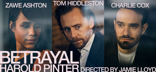 PHOTOS: Behind the scenes at the rehearsals for Betrayal starring Tom Hiddleston