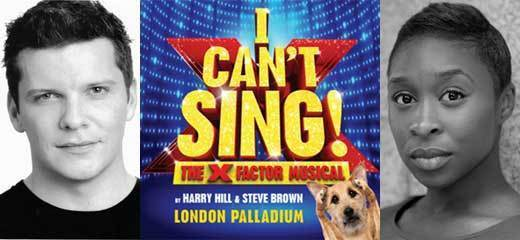 Nigel Harman & Cynthia Erivo lead X Factor's I Can't Sing!