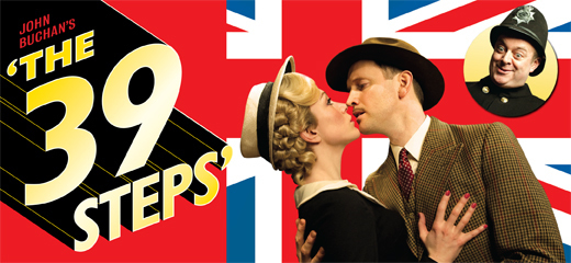 The 39 Steps celebrates 5 years & 2000 performances