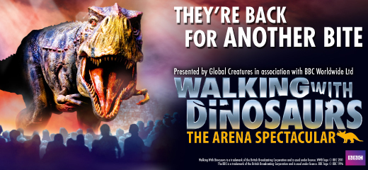 Walking with Dinosaurs returns to London