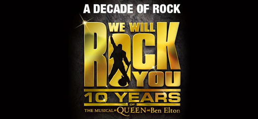 We Will Rock You Announces 10th Anniversary World Tour