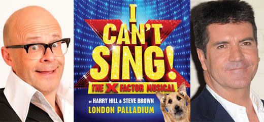 X Factor musical I Can't Sing! to hit the West End in 2014