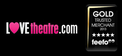 LOVEtheatre receives 2013 Gold Trusted Merchant Award