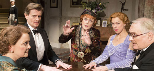 Five star reviews for Angela Lansbury in Blithe Spirit