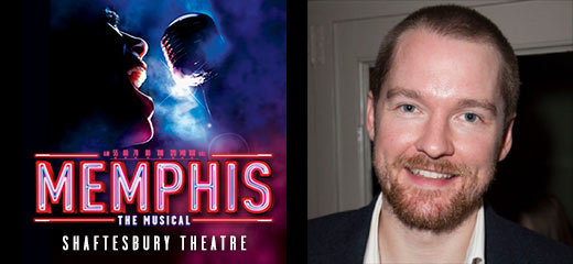 Killian Donnelly joins Beverley Knight in Memphis The Musical