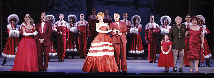 The Cast Of White Christmas.Full Cast Announced For Irving Berlin S White Christmas