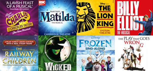 London theatre top 10 half term treats for families tickets london news tickets - Best shows to see in london ...