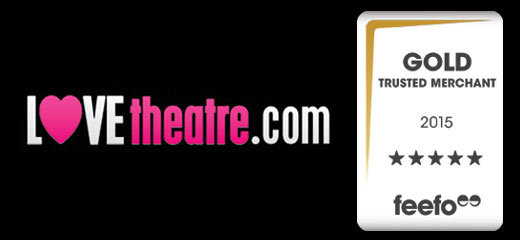 For the second year, LOVEtheatre named Gold Trusted Merchant
