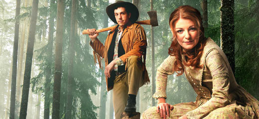 Alex Gaumond & Laura Pitt-Pulford lead Seven Brides For Seven Brothers