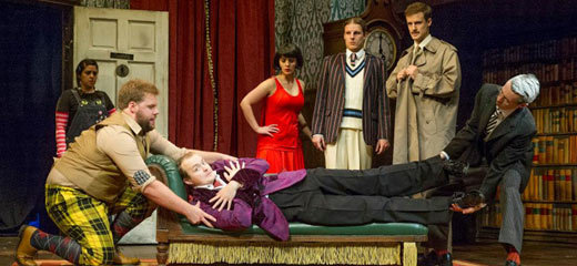 The Play That Goes Wrong extends to February 2016
