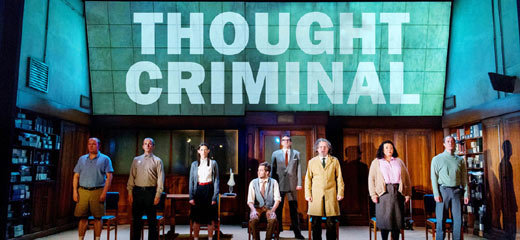 George Orwell's 1984 returns to the Playhouse Theatre