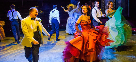 Four and five stars for High Society at the Old Vic