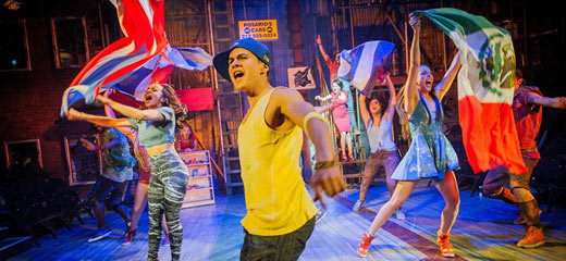 Smash hit musical In The Heights returns to the London stage