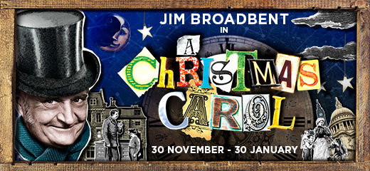 Jim Broadbent stars in A Christmas Carol at the Noel Coward 2015