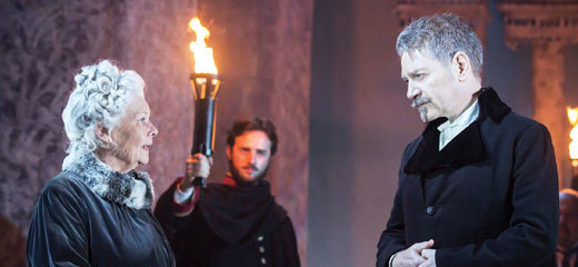Four & five star reviews for Branagh & Dench in The Winter's Tale