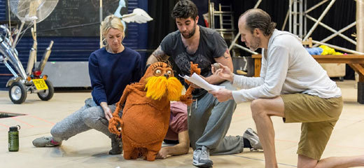 PHOTOS: Behind the scenes in Dr. Seuss's The Lorax rehearsals