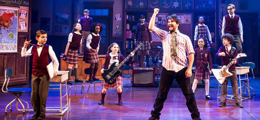 Lloyd Webber's School of Rock musical transfers to West End