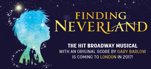 Finding Neverland musical coming to London in 2017
