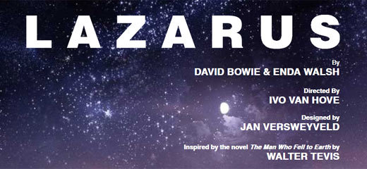 David Bowie's musical Lazarus set for London transfer