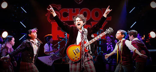 School of Rock musical to open at New London Theatre