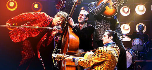 Million Dollar Quartet comes to the Royal Festival Hall