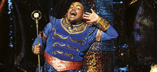 Four stars for Disney's new West End musical Aladdin in London