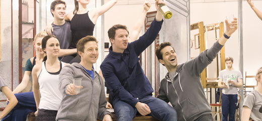 PHOTOS: Behind the scenes in An American In Paris rehearsals