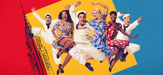 Casting announced for On The Town at the Open Air Theatre