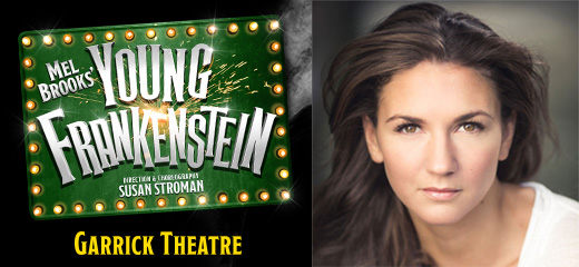 Q&A with Young Frankenstein's Summer Strallen