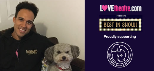 West End Stars & their pets: Dreamgirls' Rohan Richards with Todd