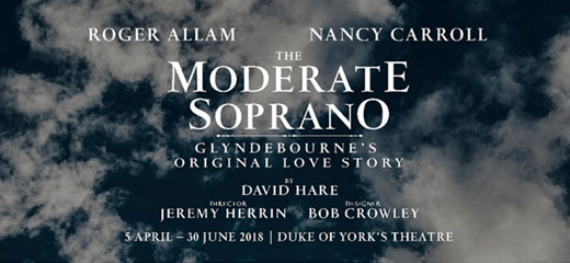 David Hare's The Moderate Soprano transfers to the Duke of York's Theatre