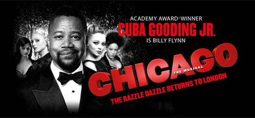 Cuba Gooding Jr to star in Chicago at the Phoenix Theatre