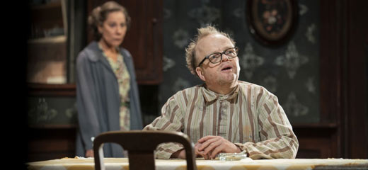 PHOTOS: First look at Toby Jones, Zoë Wanamaker, Stephen Mangan and Pearl Mackie in The Birthday Party