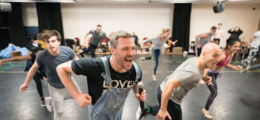 PHOTOS: Behind the scenes at Strictly Ballroom The Musical rehearsals