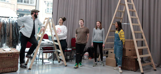 PHOTOS: Behind the scenes at The Selfish Giant rehearsals