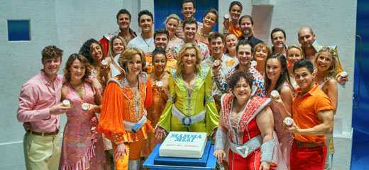 Mamma Mia celebrates 19th anniversary with 2019 extension