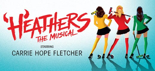Carrie Hope Fletcher to star in Heathers The Musical at The Other Palace