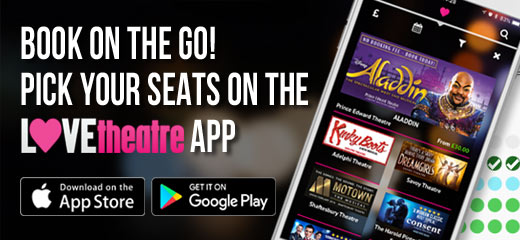 Choose your own seats on the LOVEtheatre mobile App