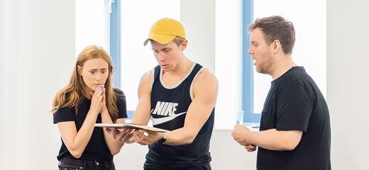 PHOTOS: Behind the scenes at the rehearsals for Eugenius!