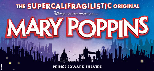 Mary Poppins will return to the Prince Edward Theatre for a magical Autumn 2019
