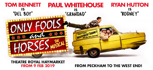 Hit TV comedy Only Fools and Horses returns... as a musical!