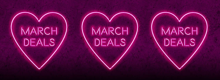 March Mega Deals from LOVEtheatre - Tickets from 15