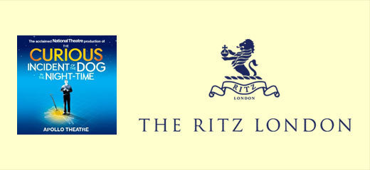 The Curious Incident Of The Dog In The Night-time + 3 Course Dinner & Glass of Champagne at The Ritz