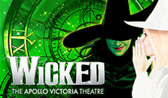 Wicked tickets for the Apollo Victoria Theatre - from LOVEtheatre
