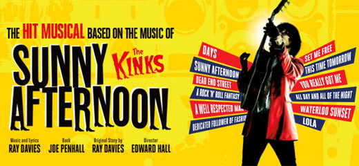 Sunny Afternoon - New Wimbledon Theatre