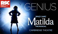 Book Theatre Tickets for Matilda