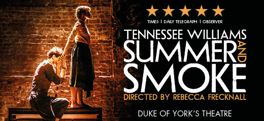 Q&A with Summer and Smoke's Rebecca Frecknall