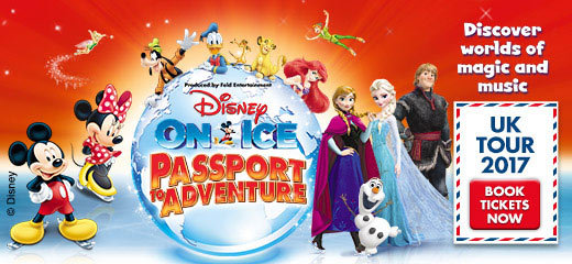 Disney On Ice presents Passport To Adventure - FlyDSA Arena Sheffield