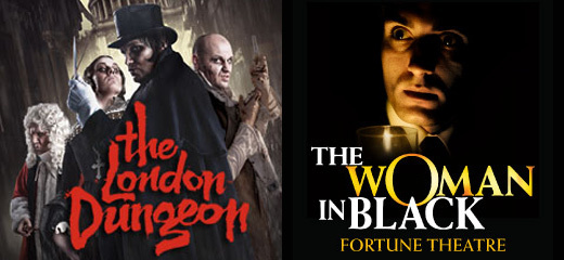 The Woman In Black + FREE Entry to the London Dungeon