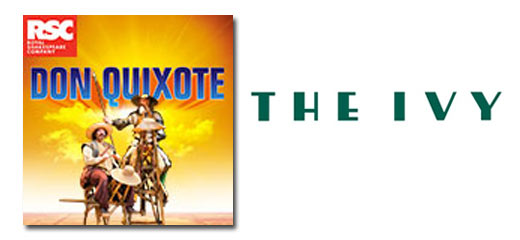 Don Quixote + The Ivy - 2 Course Post Theatre Meal
